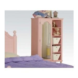 FLORESVILL PINK W/WH FLOWER DOOR CHEST