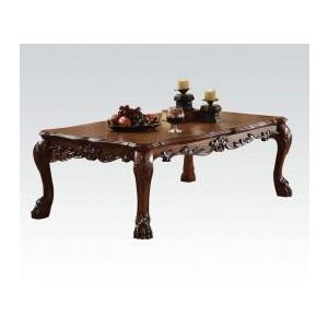 DRESDEN BROWN PU COFFEE TABLE Model 2