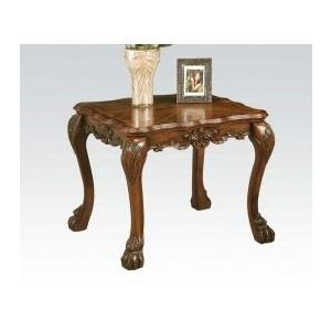 DRESDEN BROWN PU END TABLE