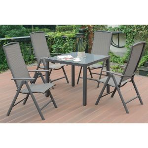 POUNDEX 5-PCS OUTDOOR DINING SET 187