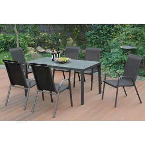 POUNDEX 7-PCS OUTDOOR DINING SET 188