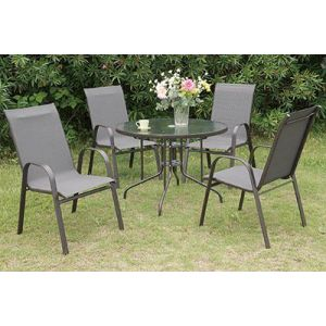 POUNDEX 5-PCS OUTDOOR DINING SET 203