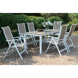 POUNDEX 7-PCS OUTDOOR DINING SET 256