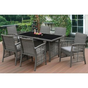POUNDEX 7-PCS OUTDOOR DINING SET 271
