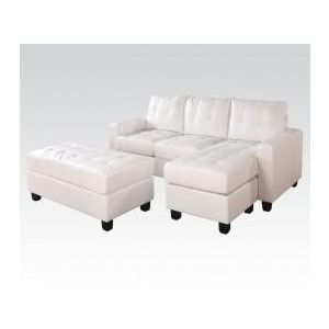 LYSSA WH REV. SECTIONAL SOFA  OTTOM