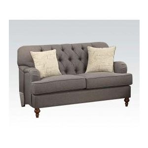 ALIANZA DARK GRAY LOVESEAT