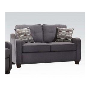 CLEAVON II GRAY LOVESEAT