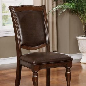 Alpena Brown Cherry Espresso Table Chair(2PK)
