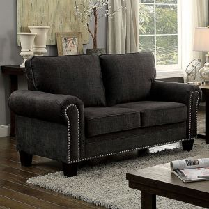 Elwick Dark Gray Loveseat