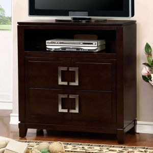 Balfour Brown Cherry Media Chest