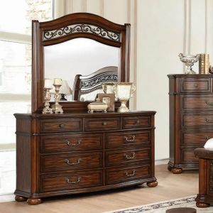 Janiya Brown Cherry Dresser