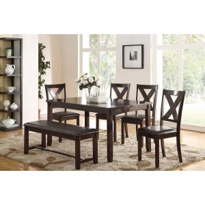 POUNDEX 6-PCS DINING DINING SET F2297