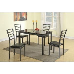 POUNDEX 5-PCS DINING SET F2368