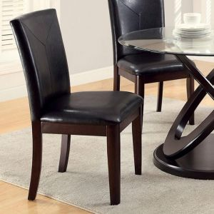 Atenna I Dark Walnut Table Chair(2PK)