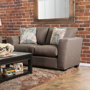 Bensen Brown Loveseat