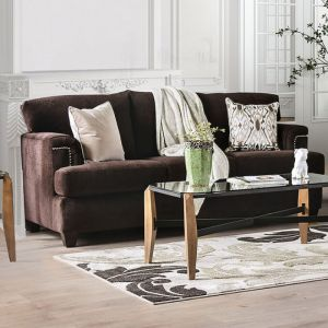 Brynlee Chocolate Sofa