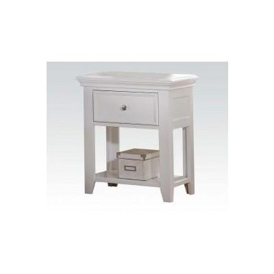 Lacey White Nightstand