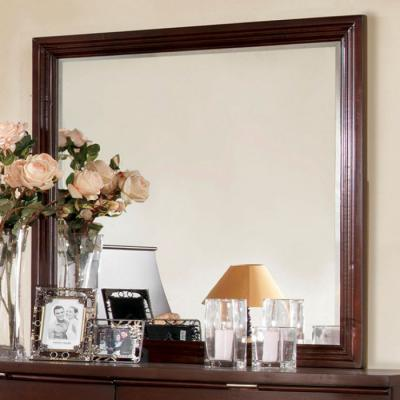 Mercer Brown Cherry Mirror