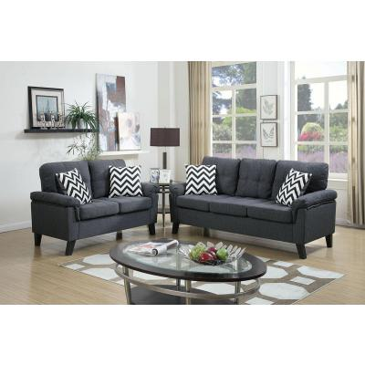 POUNDEX 2-PCS SOFA F6905